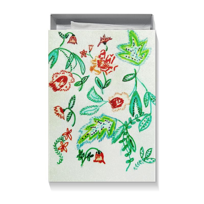 Printio Коробка для футболок Дикие цветы