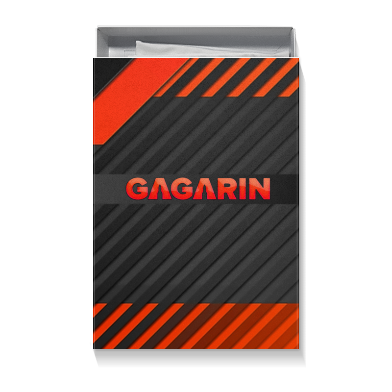 Printio Коробка для футболок Гагарин