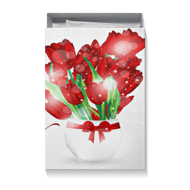Printio Коробка для футболок Женский день