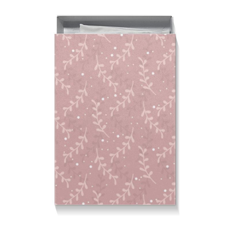 Printio Коробка для футболок Подарочная упаковка с нежным розовым рисунком