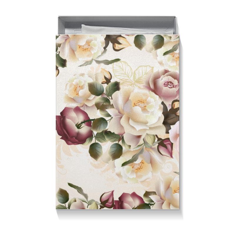 Printio Коробка для футболок Розовые розы