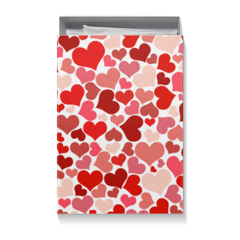 Printio Коробка для футболок Сердечки