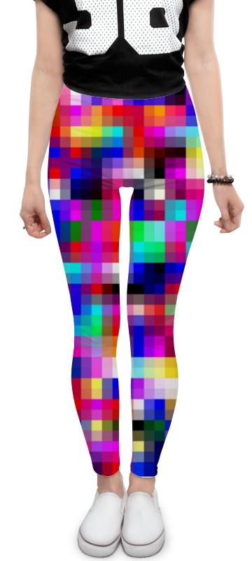 Printio Леггинсы Pixels