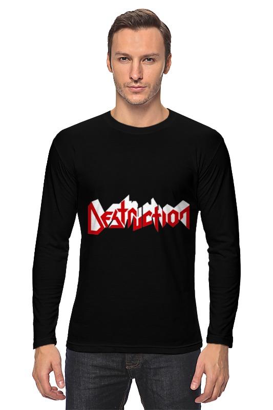 Printio Лонгслив Destruction
