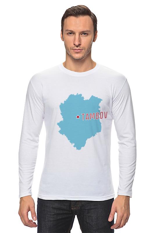 Printio Лонгслив Тамбовская область. тамбов