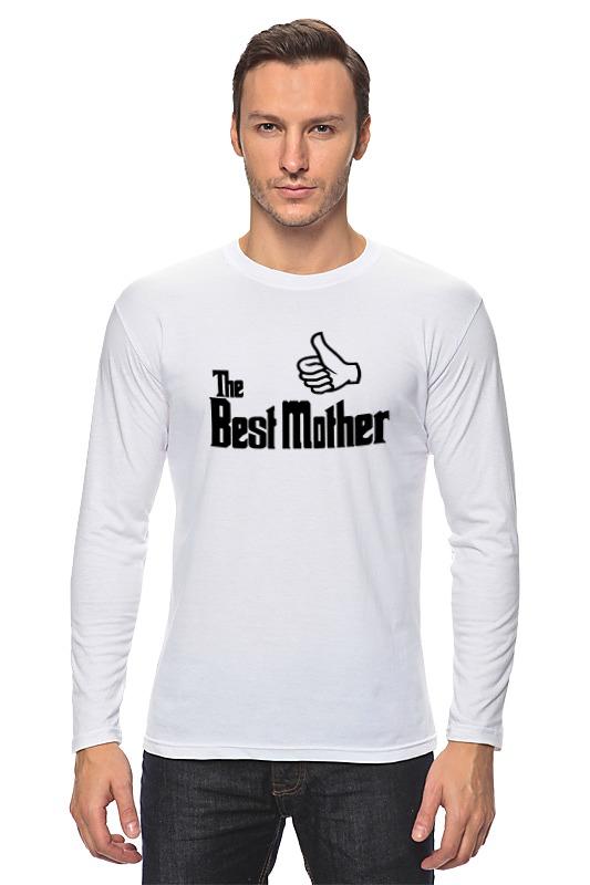 лонгслив printio yoda best Printio Лонгслив Лучшая мама (best mother)