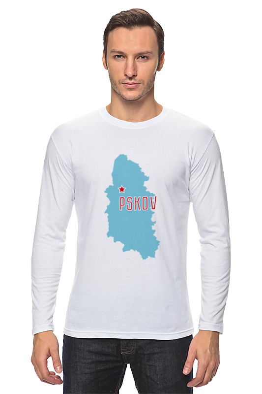 Printio Лонгслив Псковская область