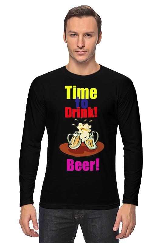 Printio Лонгслив Time to drink beer!