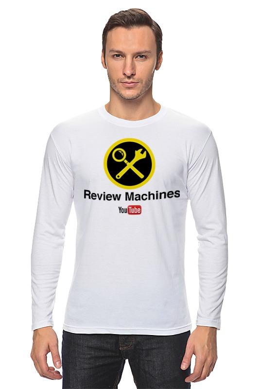 Printio Лонгслив Review machines