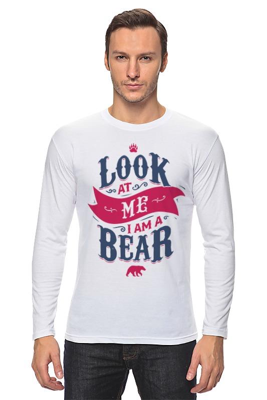 Printio Лонгслив Я медведь (i am bear) printio лонгслив i am