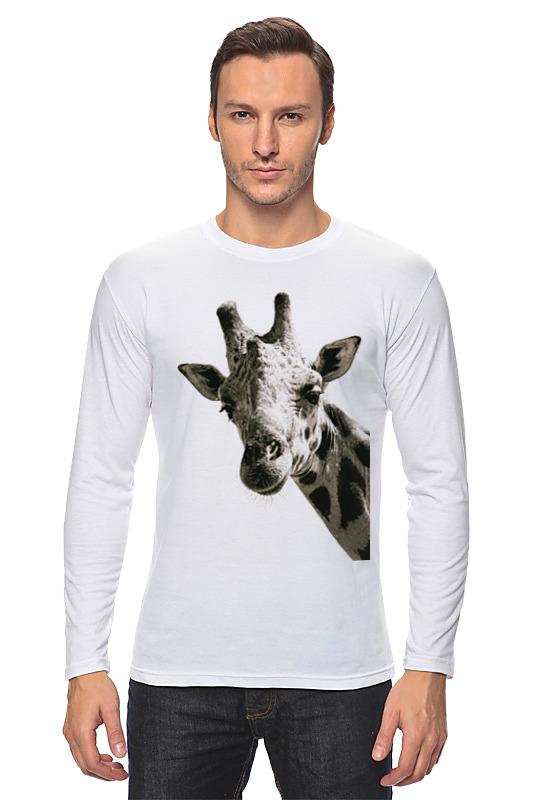 Printio Лонгслив Любопытный жираф
