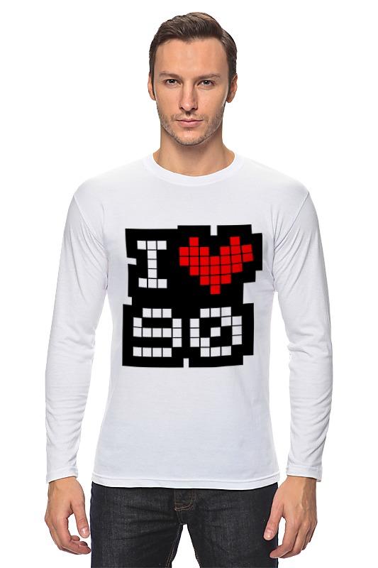 Printio Лонгслив I love 90