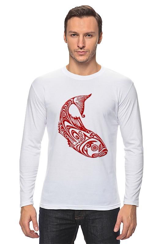 Printio Лонгслив Рыба стилизованная