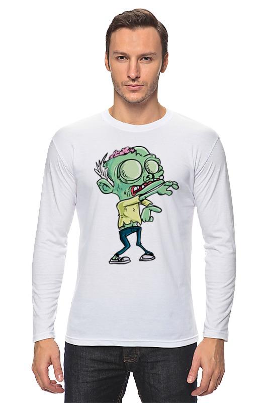 Printio Лонгслив Зомби (zombie) лонгслив printio zombie football