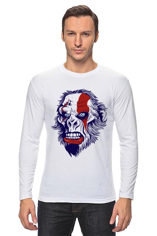 Printio Лонгслив Gorilla kratos printio футболка классическая gorilla kratos