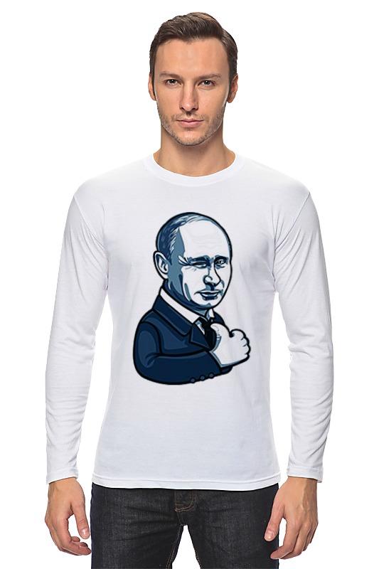 Printio Лонгслив Путин - like printio путин like