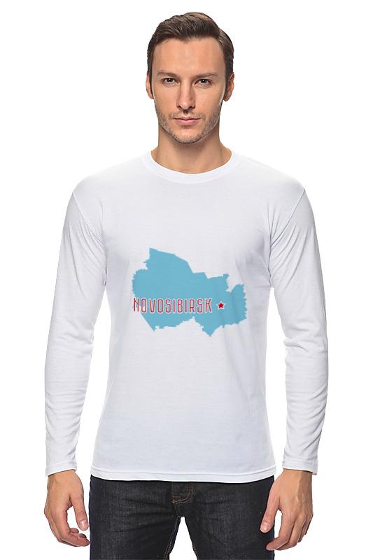 Printio Лонгслив Новосибирская область. новосибирск