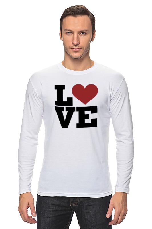 printio лонгслив love 3 Printio Лонгслив Любовь (love)