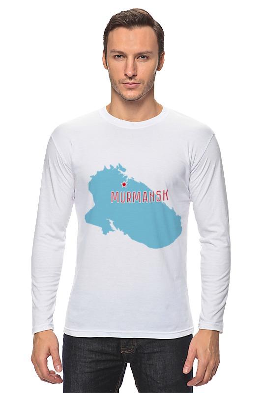Printio Лонгслив Мурманская область. мурманск