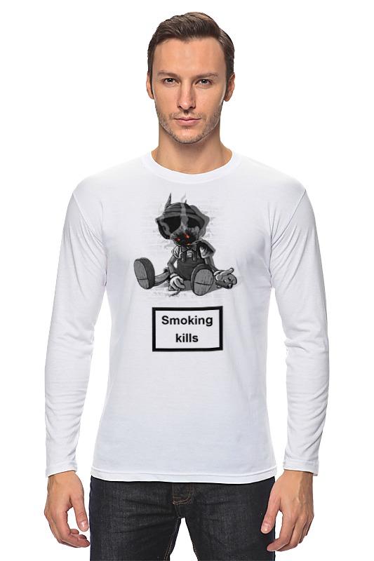 Printio Лонгслив Smoking kills smoking kills