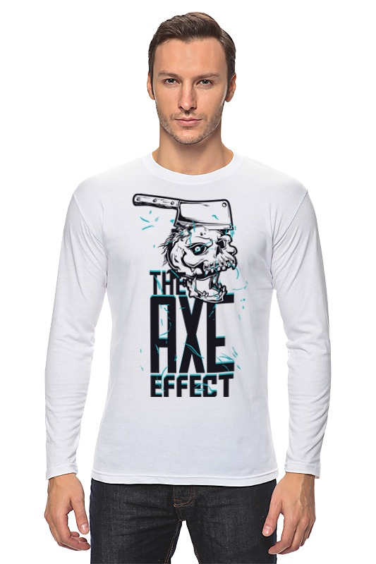 Printio Лонгслив The axe effect майка классическая printio the axe effect