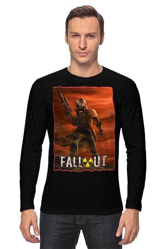Printio Лонгслив Fallout game printio лонгслив game over