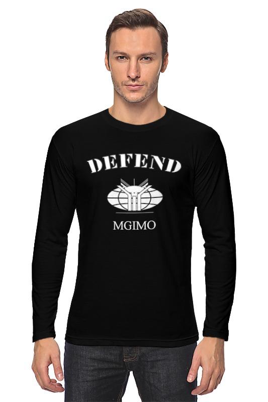 Printio Лонгслив Defend mgimo