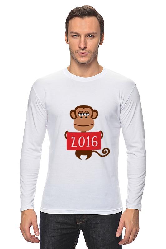 Printio Лонгслив Год обезьяны 2016
