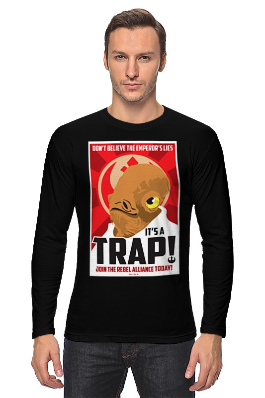 Printio Лонгслив It's a trap!