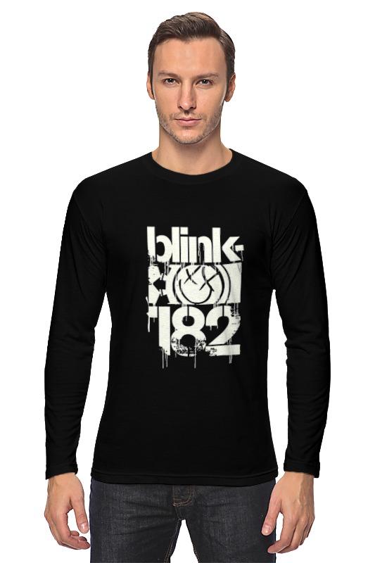 лонгслив printio blink 182 Printio Лонгслив Blink-182 smile