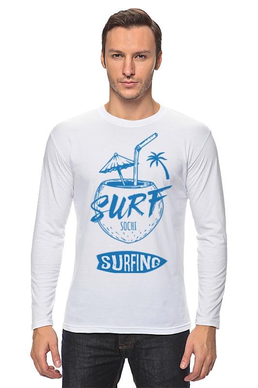 Printio Лонгслив Сочи серфинг