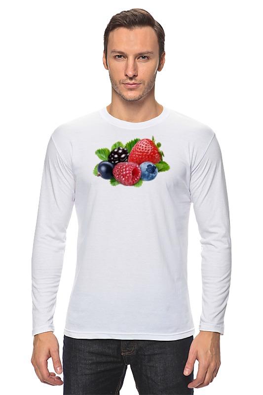 Printio Лонгслив Berries бомбер printio berries fruits
