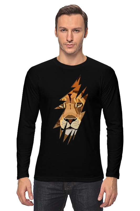 printio lion rastaman Printio Лонгслив Лев ( lion)