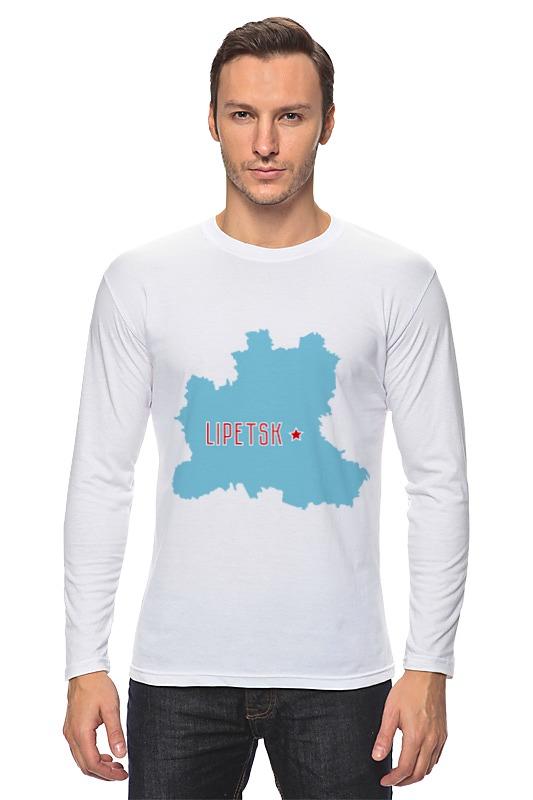 Printio Лонгслив Липецкая область. липецк