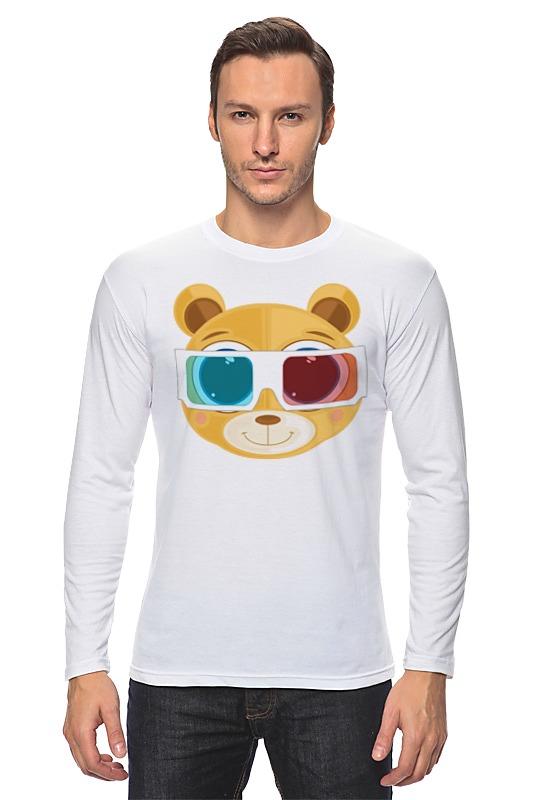 Printio Лонгслив Медведь 3д