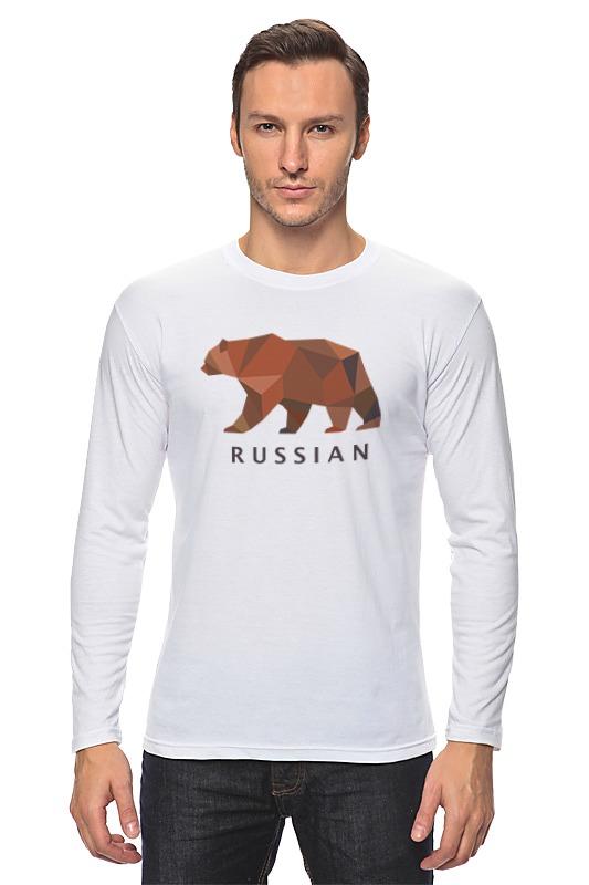 Printio Лонгслив Russian