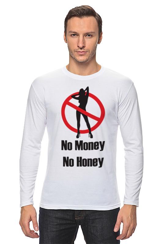 printio лонгслив no cake Printio Лонгслив No money no honey! (нет денет, нет меда!)