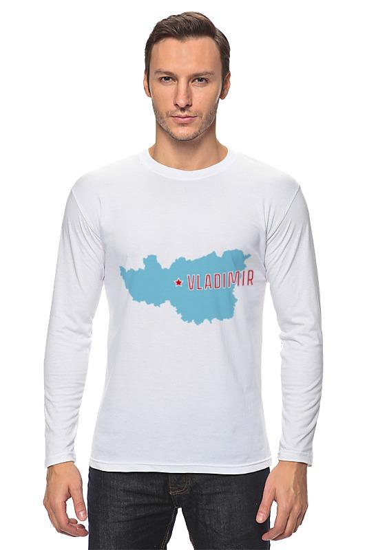 Printio Лонгслив Владимирская область. владимир