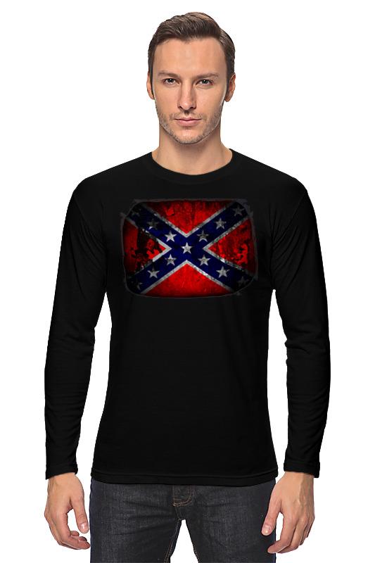 Printio Лонгслив Флаг конфедерации сша