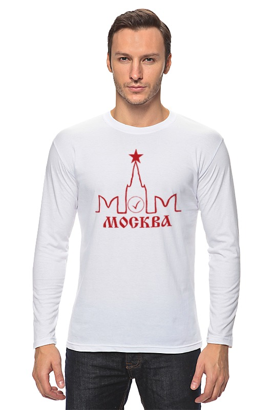 Printio Лонгслив Москва