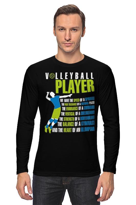 Printio Лонгслив Volleyball player