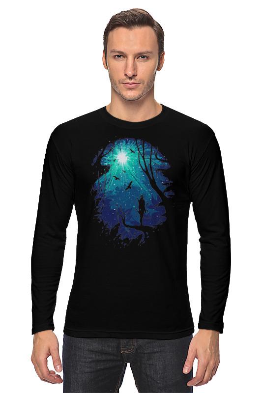 свет имени в ночи времен европейские легенды средневековья Printio Лонгслив Лунный свет