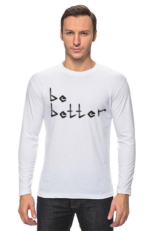 Фото - Printio Лонгслив Be better printio сумка be better