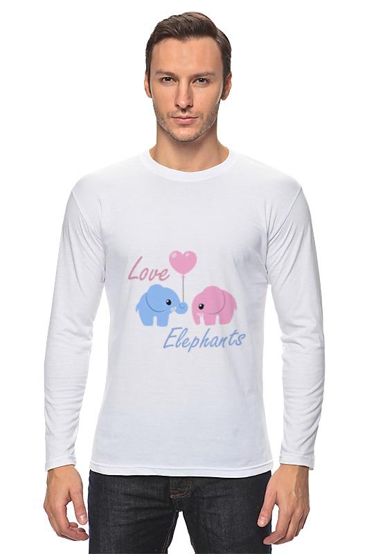printio лонгслив love 3 Printio Лонгслив Love elephants