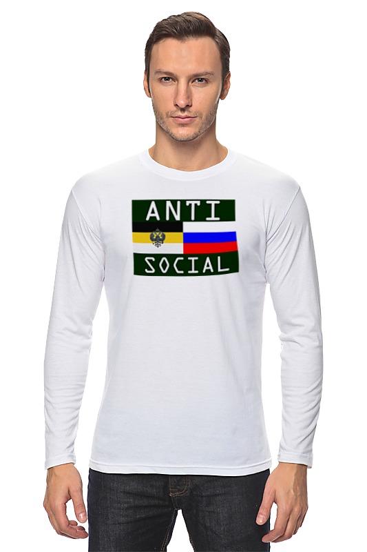 Printio Лонгслив Antisocial