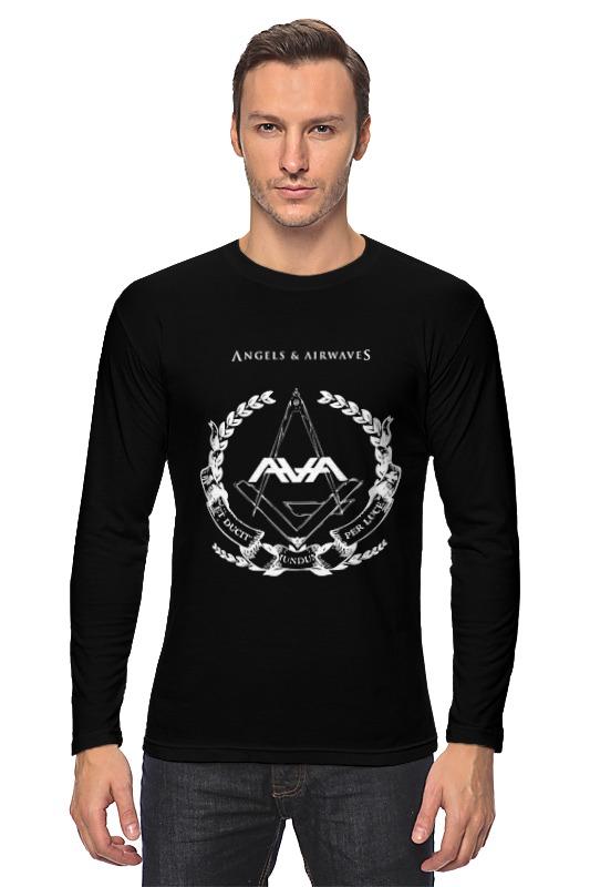 Printio Лонгслив Angels and airwaves freemason printio футболка с полной запечаткой для девочек astronaut angels and airwaves
