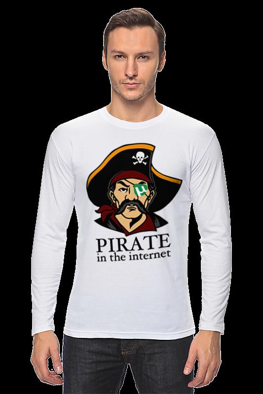 Printio Лонгслив Интернет пират