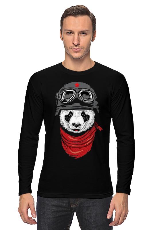 Printio Лонгслив Soviet panda printio soviet tank