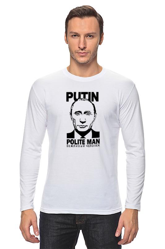 Printio Лонгслив Путин printio путин like