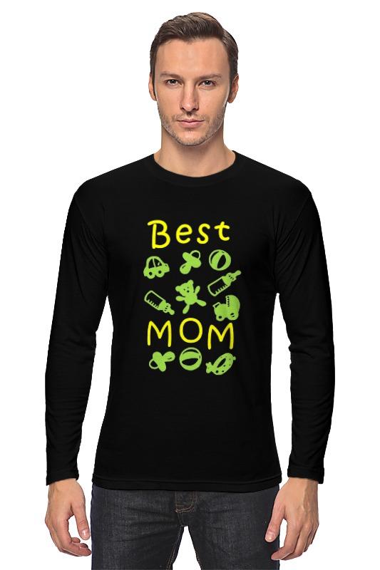 лонгслив printio yoda best Printio Лонгслив Best mom